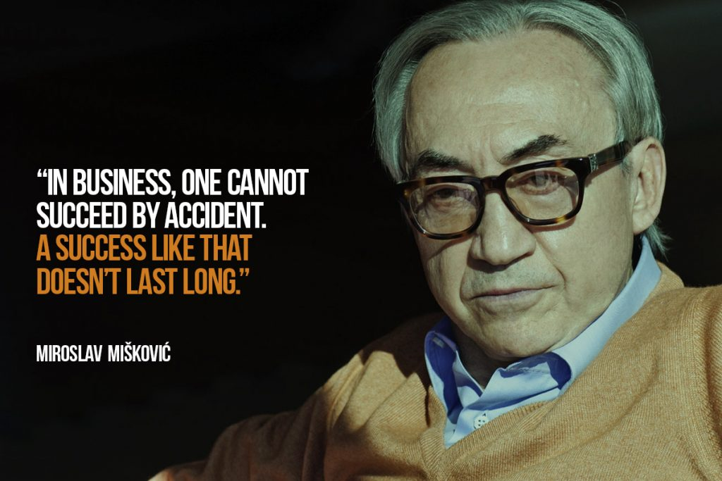 One cannot succeed by accident